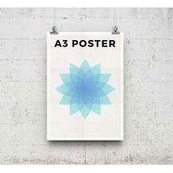 Αφίσες Α3 - 150γρ. - έγχρωμες